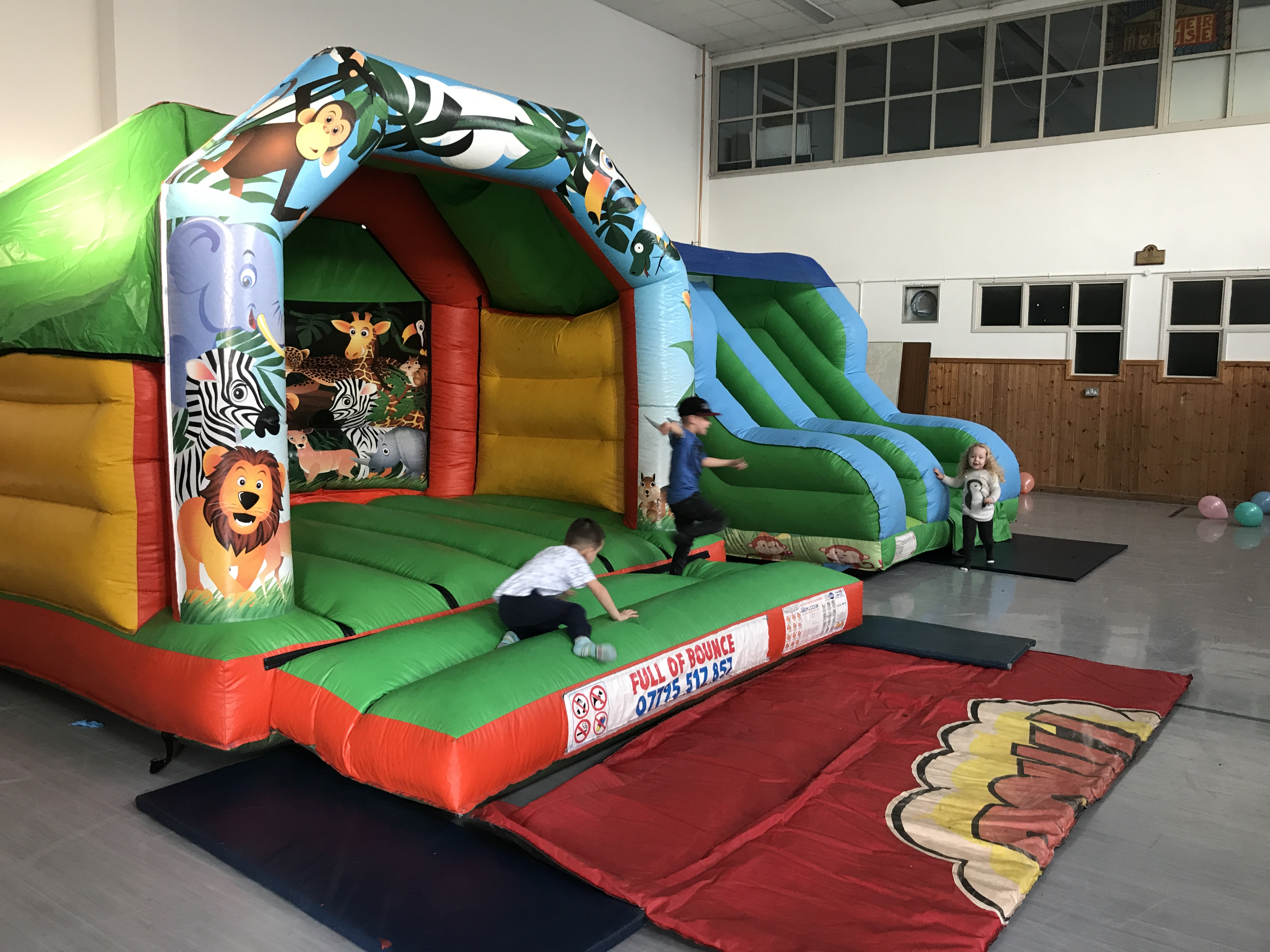 Bouncy Castle Hire Cardiff Inflatables Cardiff Full Of Bounce